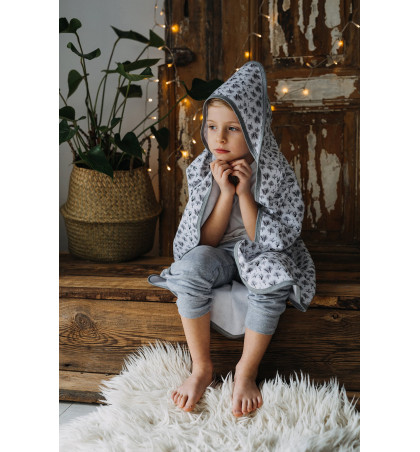 Hooded Swaddling Blanket -...