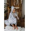 Hooded Swaddling Blanket -...