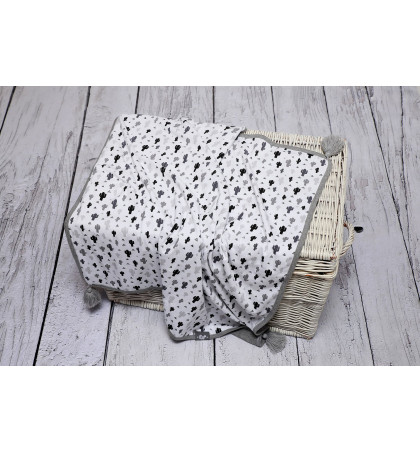 Cotton jersey Baby Blanket...
