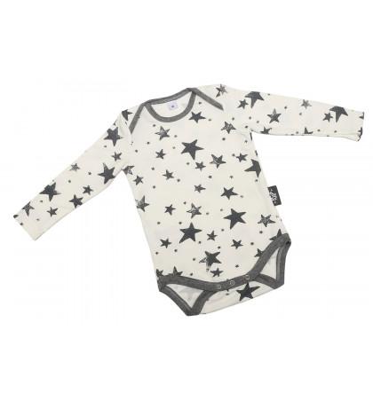 Bamboo Baby Bodysuit (Stars)