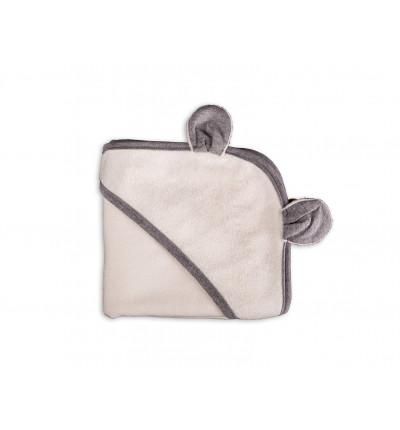 Ręcznik Bambusowy z Kapturkiem i Uszkami (Ecru)