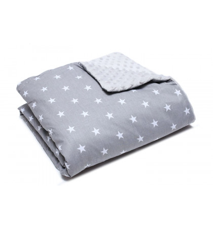 Minky Fleece Blanket (Stars)
