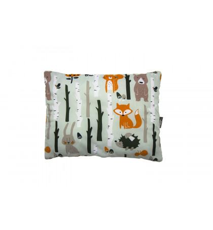 Poduszka Minky (Las Pomarańczowy)