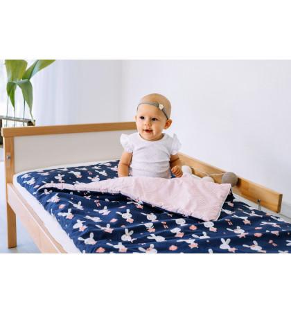 Śpiwór Ocieplany do Spania dla Dzieci (Króliczki)