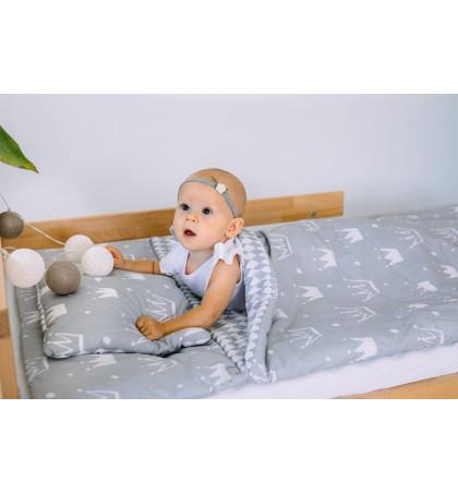Śpiwór Ocieplany do Spania dla Dzieci (Korony)