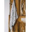 Otulacz Bambusowy z Antybakteryjnymi Jonami Srebra, Muślinowy ( Pieski+pieluszka mała) 35x35 cm