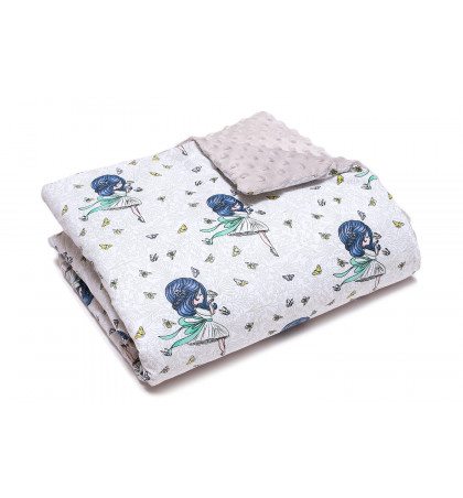 Minky Fleece Blanket (Ladies)