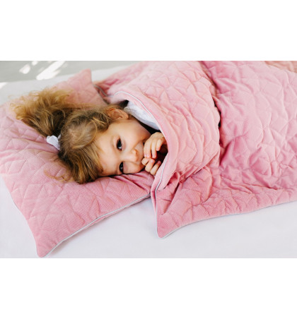 Quilted Blanket and Pillow...
