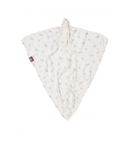 Bamboo Muslin Square (Leaves)