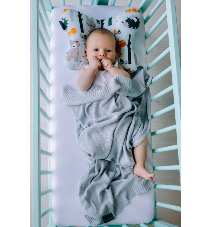 Bamboo Knitted Baby Blanket...