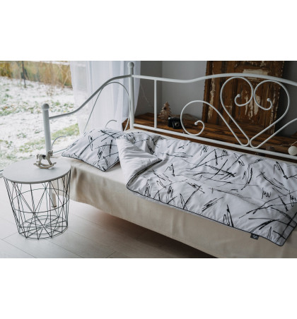 Cotton Baby Bedding (Strokes)
