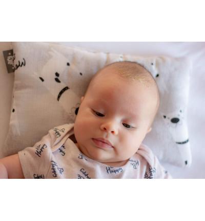 Bamboo Muslin Baby Pillow...