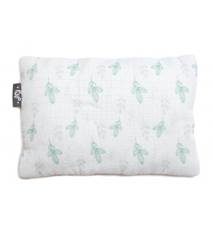 Bamboo Muslin Pillow (Mint...