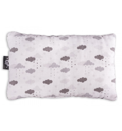 Bamboo Muslin Pillow (Clouds)