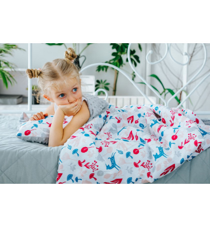 Minky Fleece Blanket (Animals)