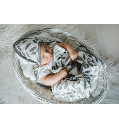 Bamboo Hooded Swaddle...