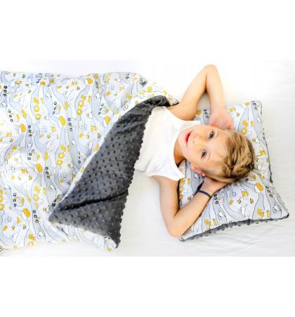 Minky Fleece Blanket 110cm...