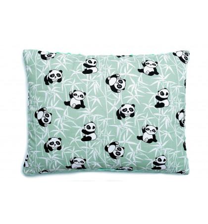 Poduszka Minky (Pandy) miętowa
